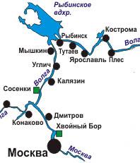 Маршрут Золотое кольцо России