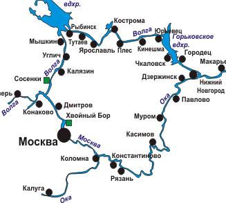 Речной круиз московская кругосветка
